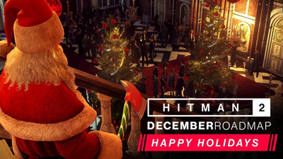 Hitman 2 December Roadmap Brings Back The Santa Assassin