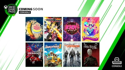 New Xbox Game Pass Games: The Division, Overcooked 2, 15 More Coming Soon