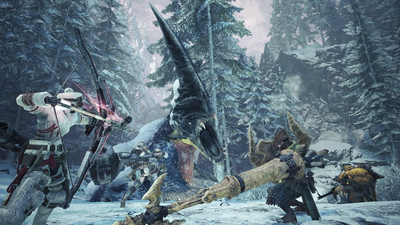 Monster Hunter World: Iceborne Coming to PC in January