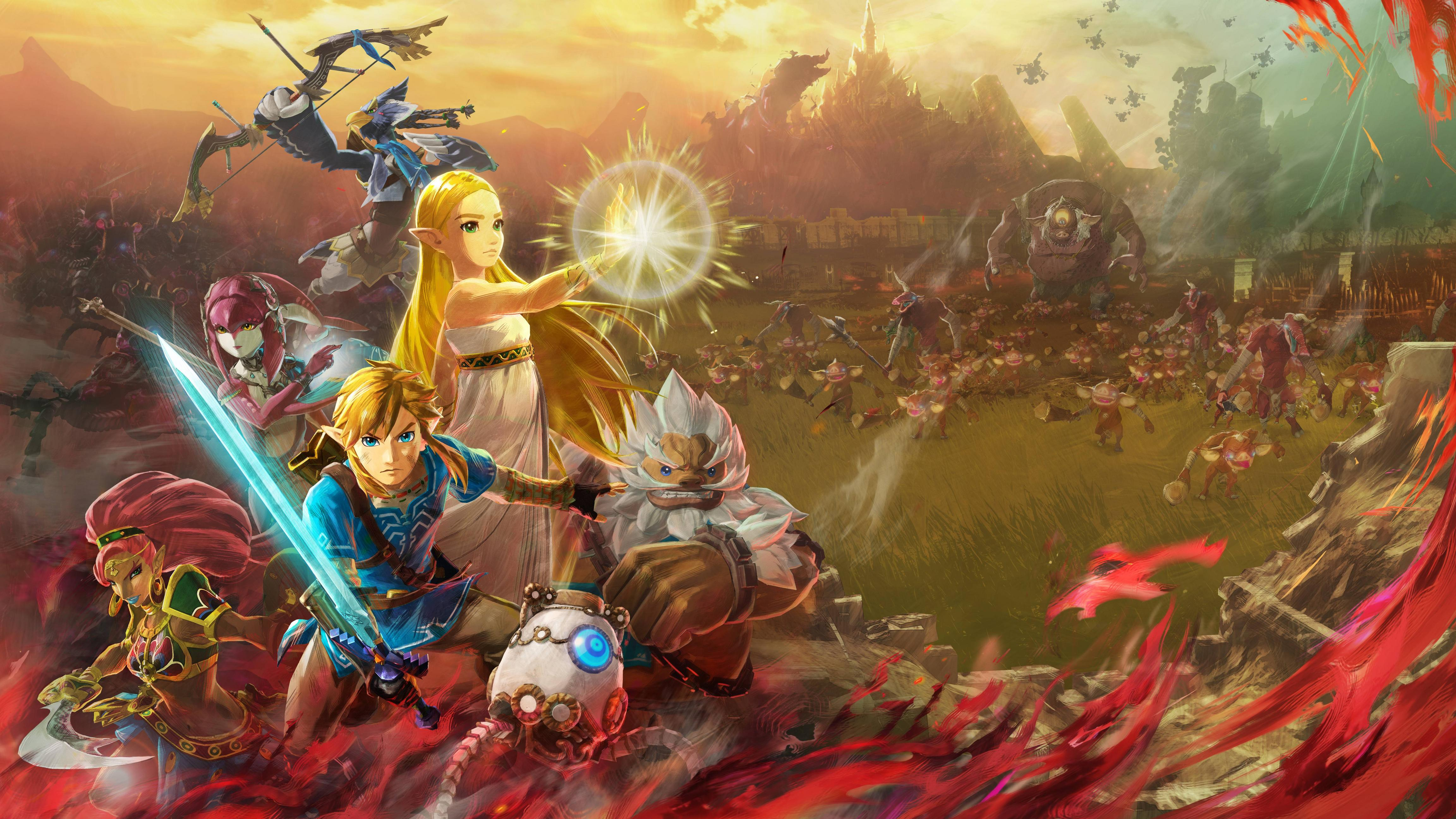 Hyrule Warriors Age Of Calamity For Switch Reviews Opencritic