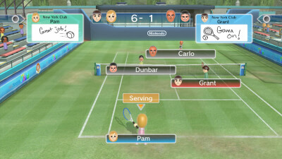 Wii Sports Club Screenshot 1