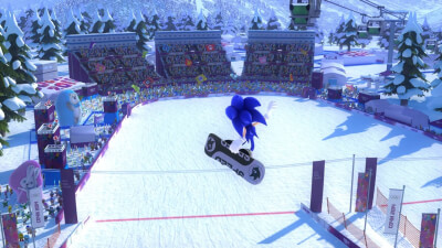 Mario & Sonic at the Sochi 2014 Olympic Winter Games Screenshot 1