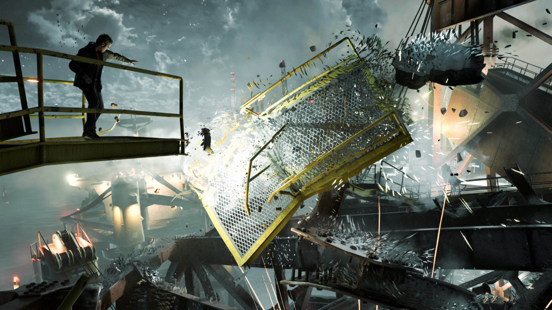 Quantum Break Masthead