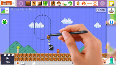 Super Mario Maker for Wii-U Screenshot 1