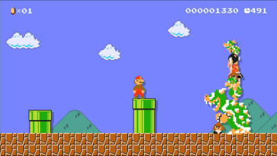 Super Mario Maker for Wii-U Screenshot 2