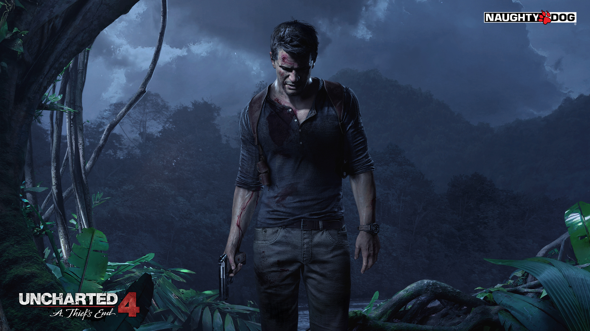 Uncharted 4: A Thief's End Masthead