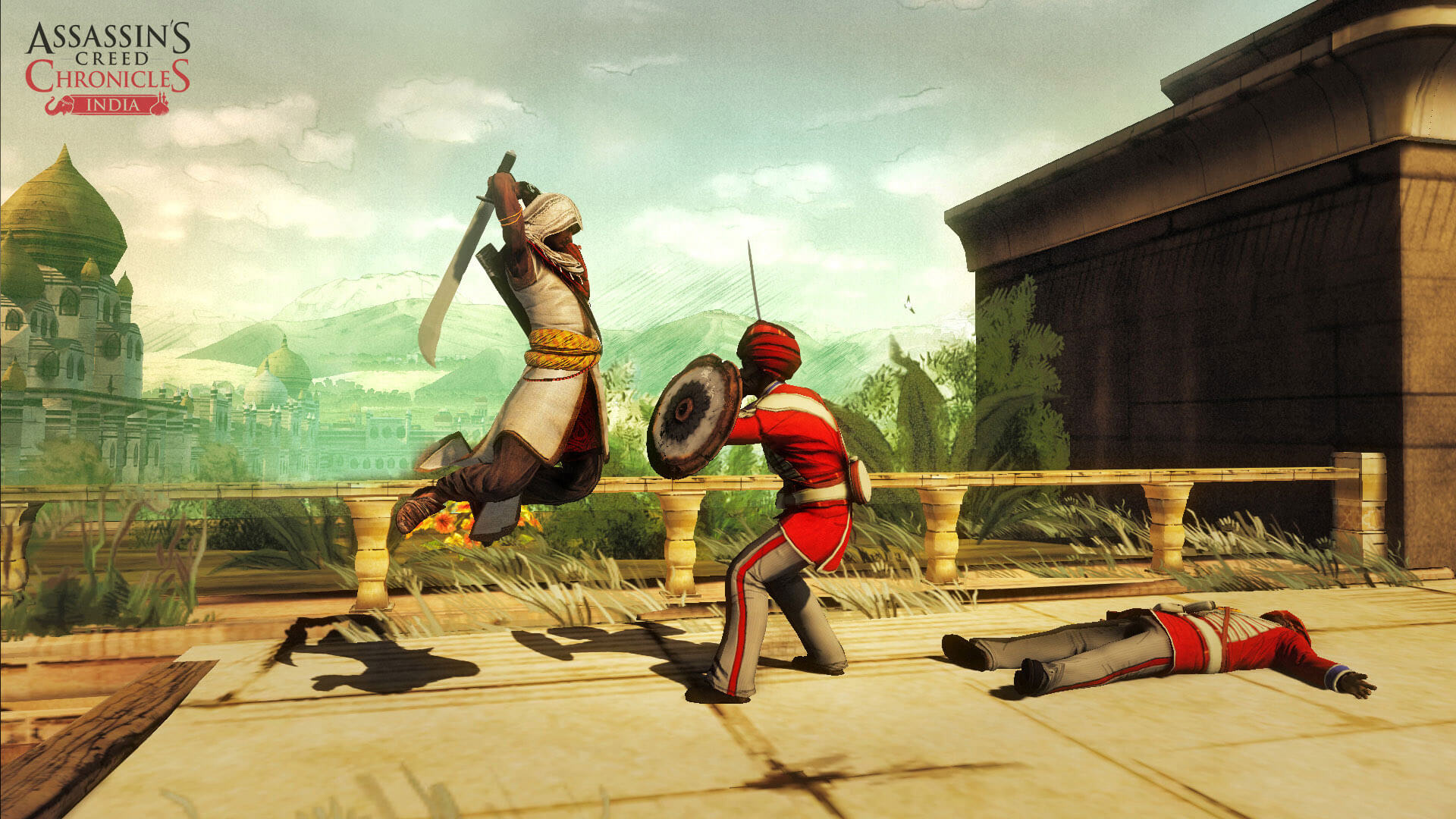 Assassin's Creed Chronicles: India Masthead