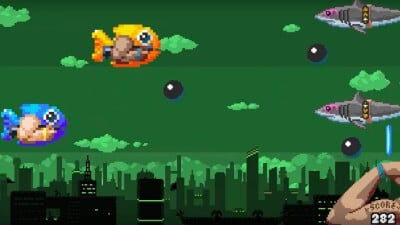 Shutshimi: Seriously Swole Screenshot 1