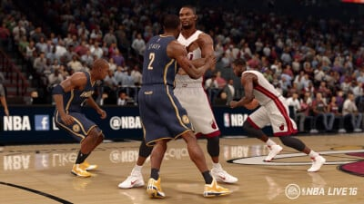 NBA Live 16 Screenshot 1