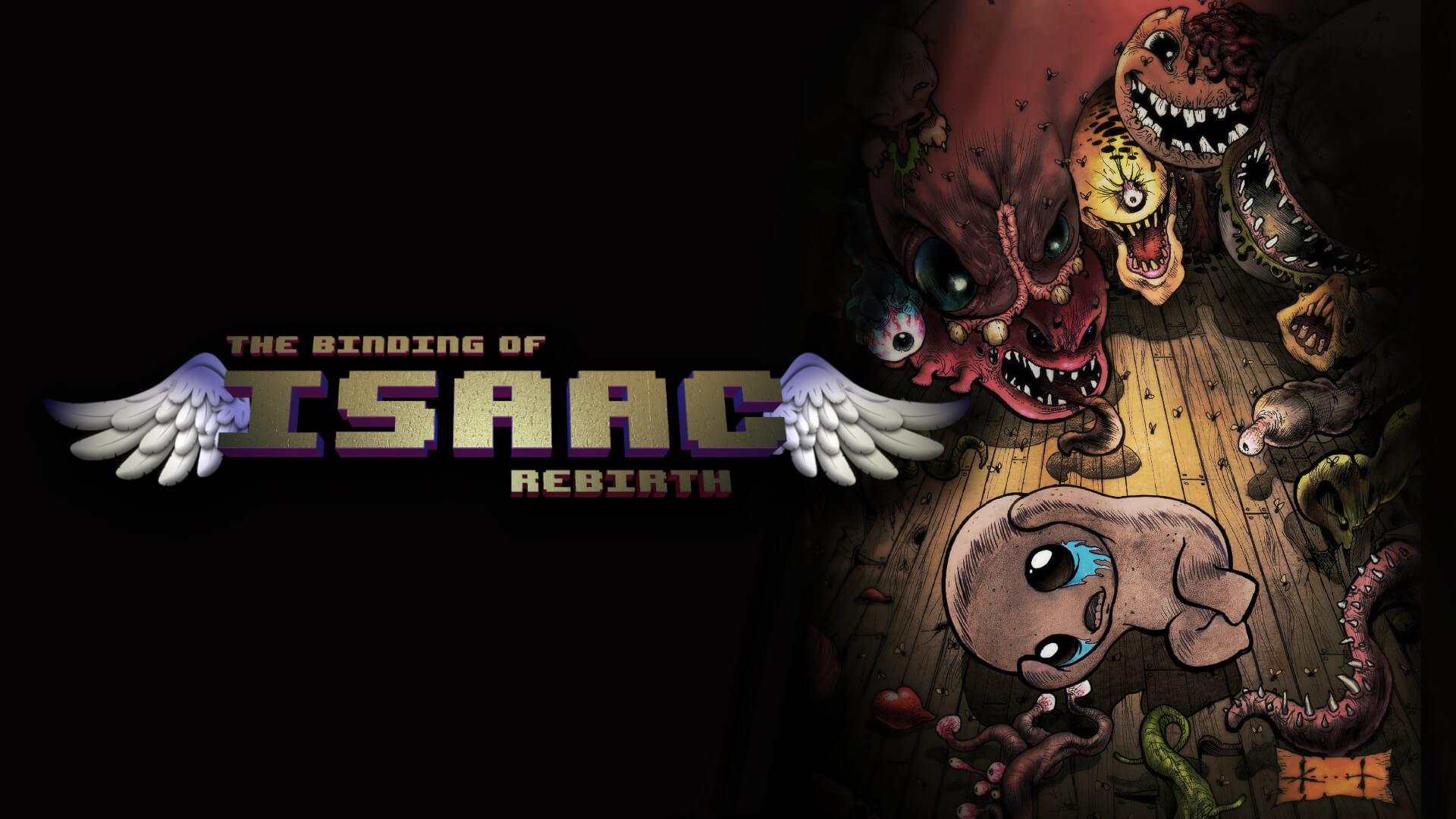 The Binding of Isaac: Rebirth Masthead