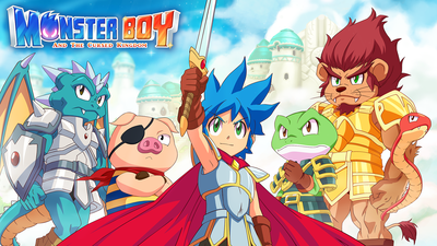 Monster Boy and the Cursed Kingdom Masthead