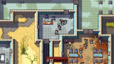 The Escapists: The Walking Dead Masthead
