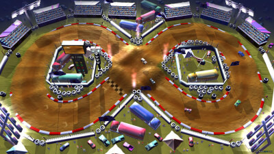 Rock 'N Racing Off Road DX Screenshot 1
