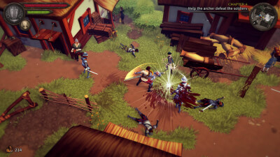 Cross of the Dutchman Screenshot 1