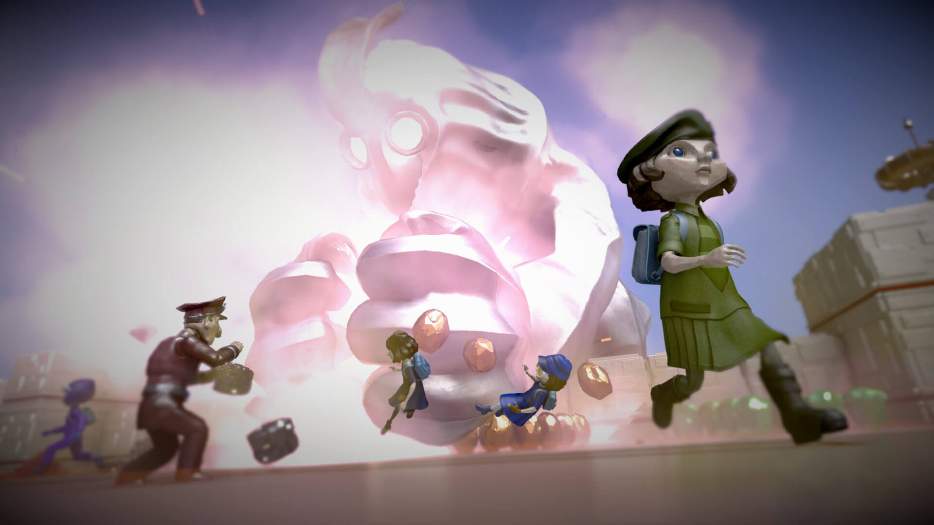 The Tomorrow Children Masthead