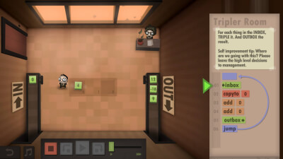 Human Resource Machine Masthead
