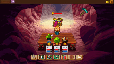 Knights of Pen and Paper 2 Screenshot 1