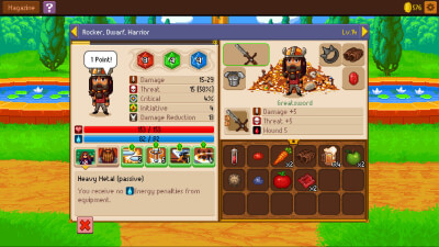 Knights of Pen and Paper 2 Screenshot 3