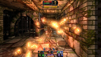 The Fall of the Dungeon Guardians Screenshot 1