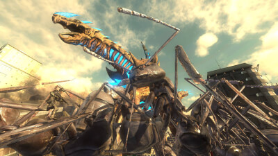 Earth Defense Force 4.1: The Shadow of New Despair Screenshot 1
