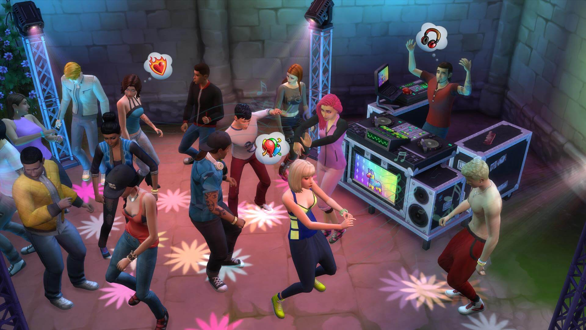 The Sims 4: Get Together Masthead