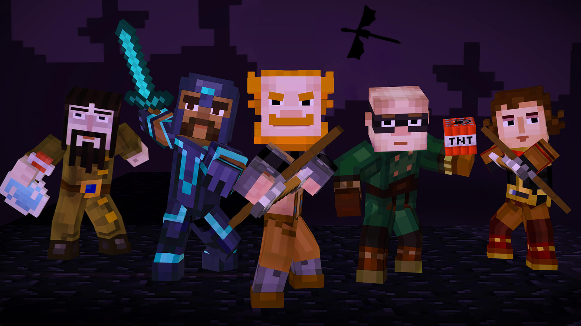 Minecraft Story Mode Episode 4 A Block And A Hard Place For Ps4 Xb1 Pc Reviews Opencritic