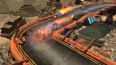 BlazeRush Screenshot 3