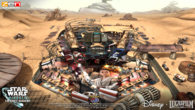 ZEN Pinball 2: Star Wars: The Force Awakens Screenshot 1
