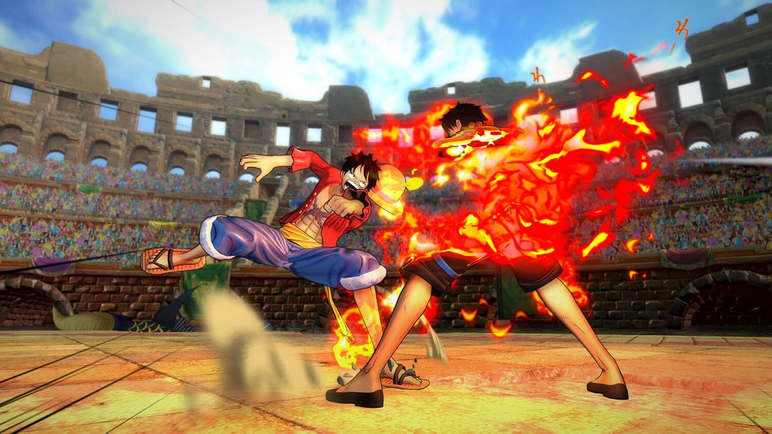 One Piece: Burning Blood Masthead