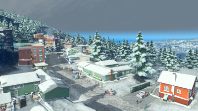 Cities: Skylines - Snowfall Screenshot 1