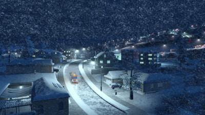 Cities: Skylines - Snowfall Screenshot 2