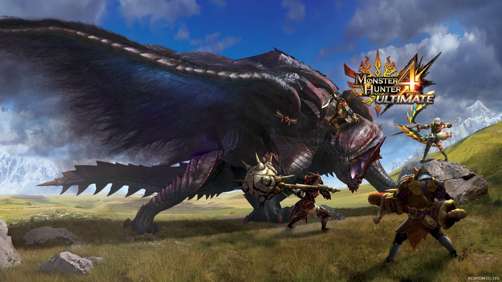 Monster Hunter 4 Ultimate Masthead