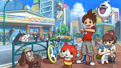 Yo-Kai Watch Masthead