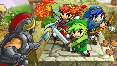 The Legend of Zelda: Tri Force Heroes Screenshot 1