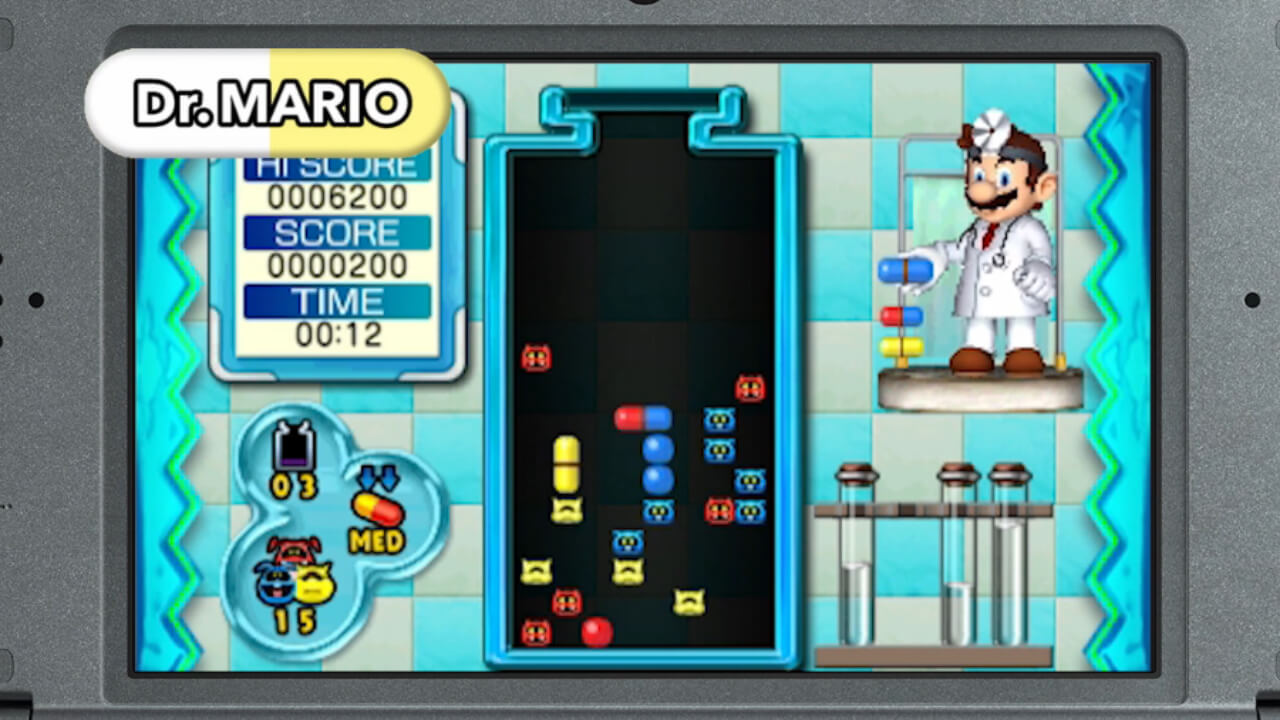 Dr. Mario: Miracle Cure Masthead