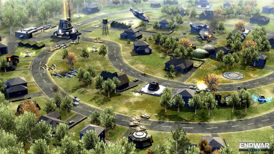 Tom Clancy's EndWar Online Screenshot 1