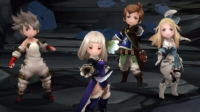 Bravely Second: End Layer Screenshot 1