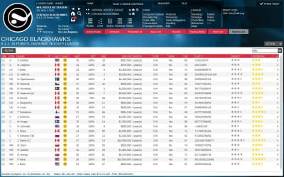 Franchise Hockey Manager 2 Screenshot 1
