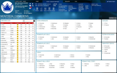 Franchise Hockey Manager 2 Screenshot 2