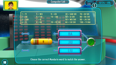 SMART Adventures Mission Math: Sabotage at the Space Station Screenshot 1