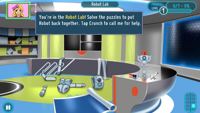 SMART Adventures Mission Math: Sabotage at the Space Station Screenshot 2