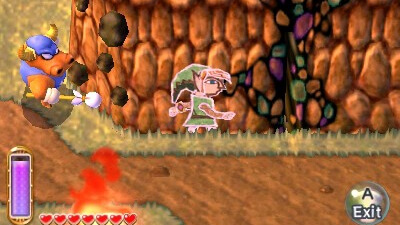 The Legend of Zelda: A Link Between Worlds Screenshot 1