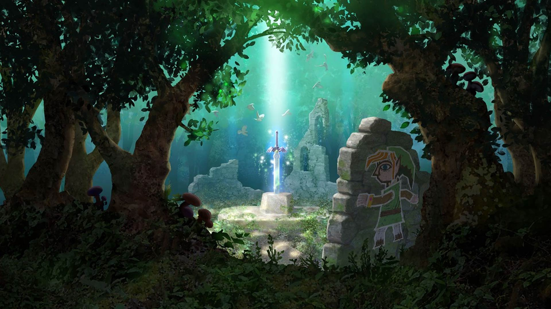 The Legend of Zelda: A Link Between Worlds Masthead