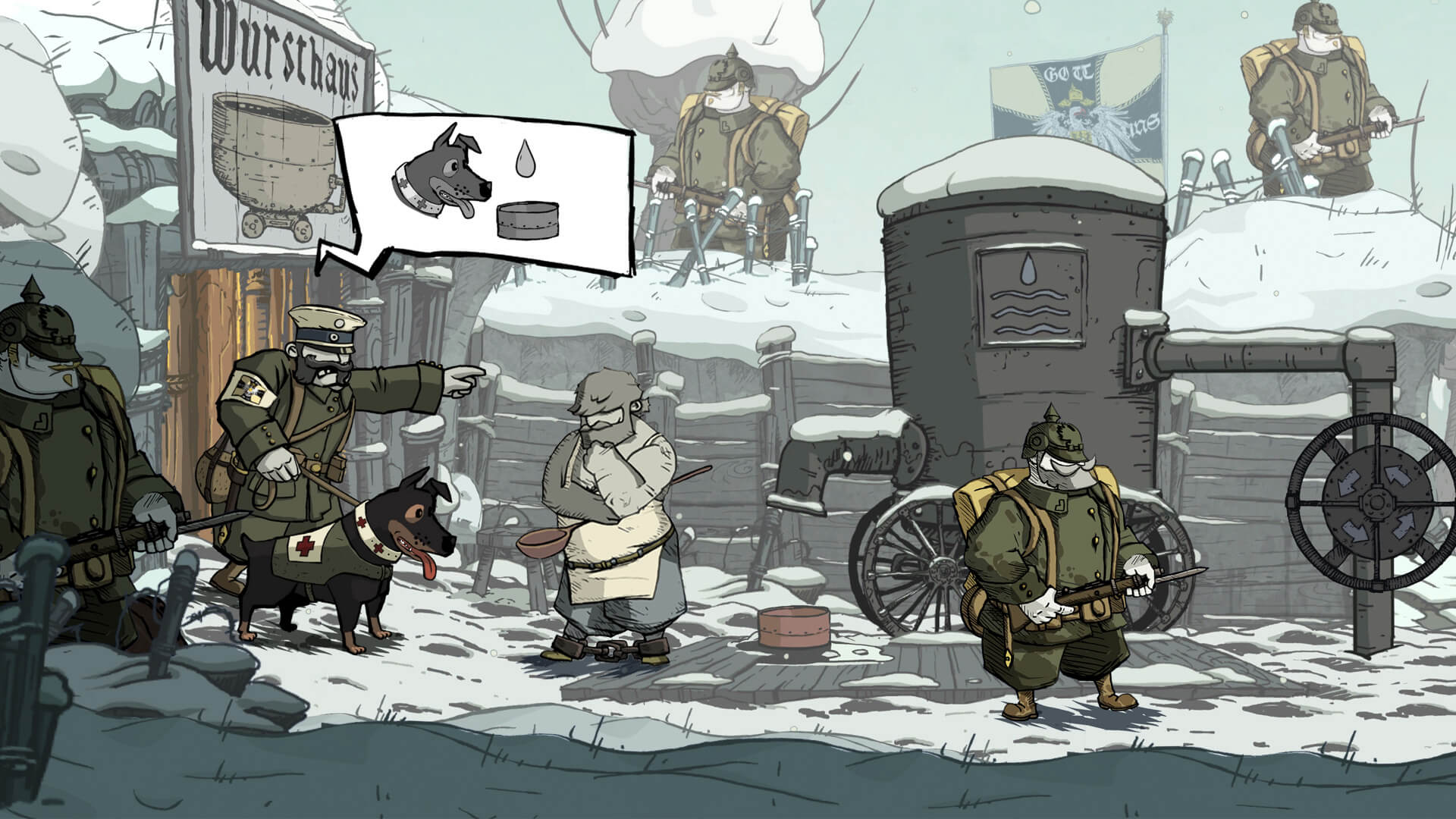 Valiant Hearts: The Great War Masthead