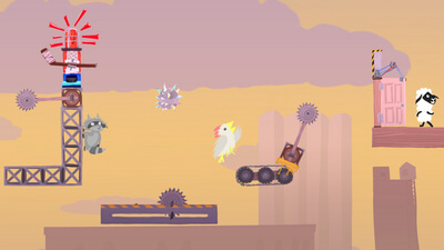 Ultimate Chicken Horse Screenshot 2
