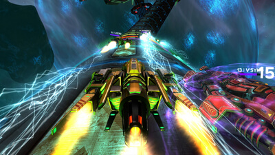 Radial-G : Racing Revolved (VR) Screenshot 1