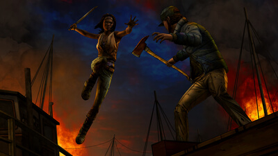 The Walking Dead: Michonne - Episode 2: Give No Shelter Screenshot 1