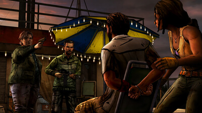 The Walking Dead: Michonne - Episode 2: Give No Shelter Screenshot 3