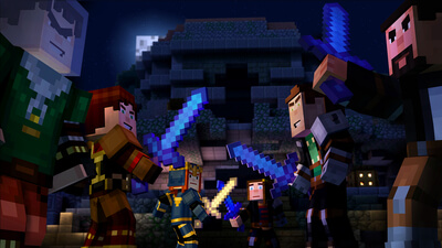Minecraft: Story Mode - Episode 5 - Order Up! Screenshot 1