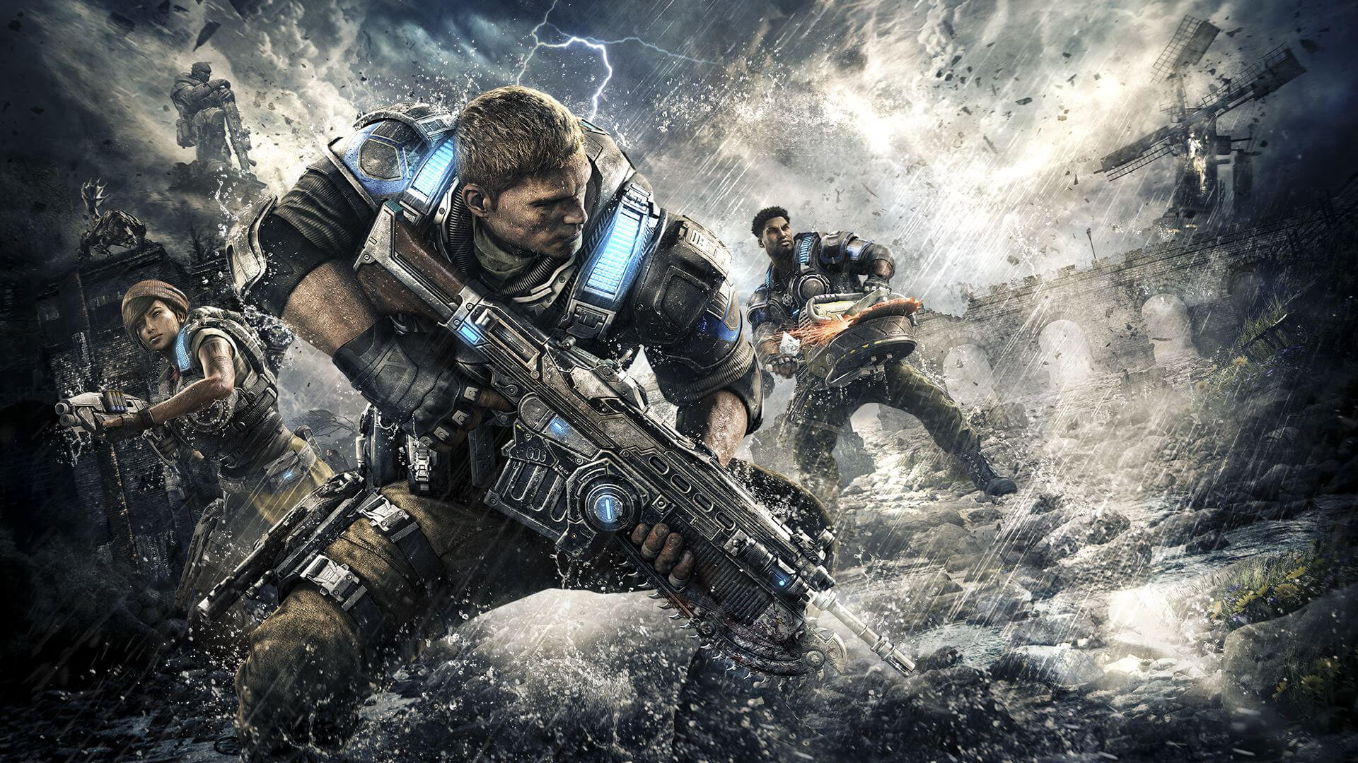 Gears of War 4 Masthead